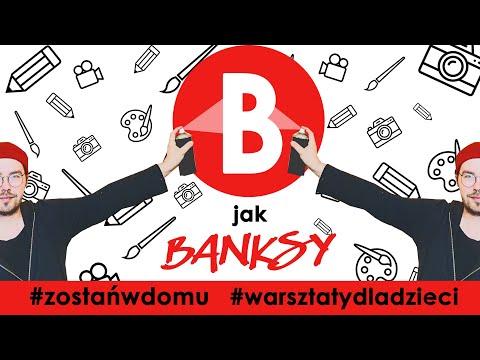 artystyczny-alfabet:-b-jak-banksy-#warsztatydladzieci-#panodplastyki-#zostanwdomu