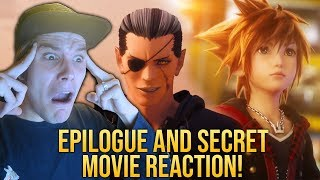 Kingdom Hearts 3 - Epilogue and Secret Movie REACTION! - NOMURA WHAT ARE YOU UP TO?!