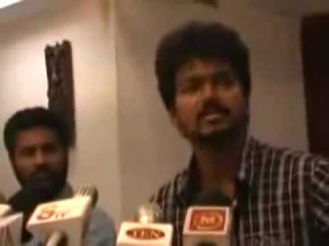 MERSAL Issue VIJAY Angry SPEECH  Every One Really Shock, MUST WATCH