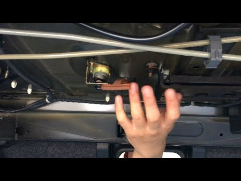 How To Fold Down Rear Seat Provide Access The Trunk Honda Accord 2003 2007