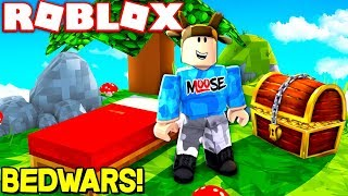 MINECRAFT BED WARS IN ROBLOX! (ROBLOX SPAWN WARS)