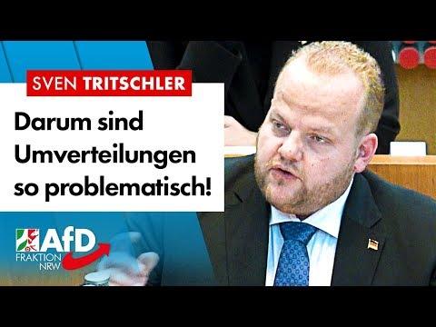 Das Problem mit Umverteilungen – Sven Tritschler (AfD)