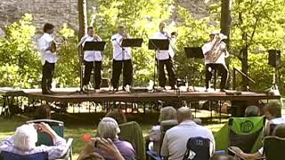 Chicago Brass Quintet at Cove Creek