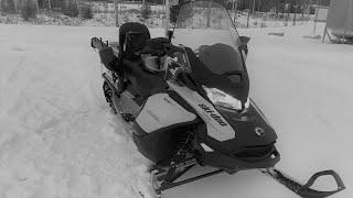 Первый выезд на снегоходе Kallavesi Рыбалка в Финляндии
