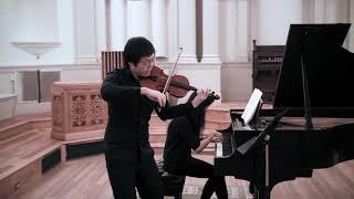 Brian Choi - Mozart Violin Sonata K296