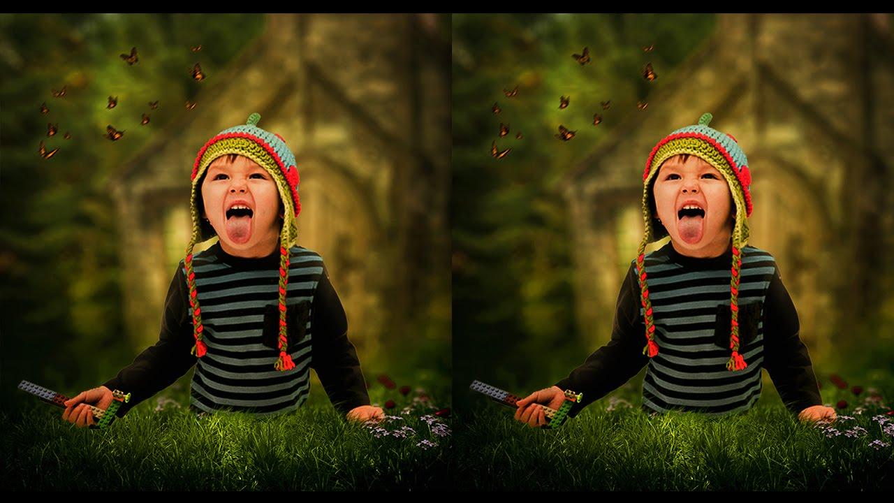 Outdoor Portrait Editing In Photoshop CC Tutorial (Blur