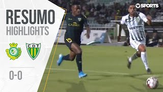 Highlights   Resumo: Vitória FC 0-0 Tondela (Liga 19/20 #1)