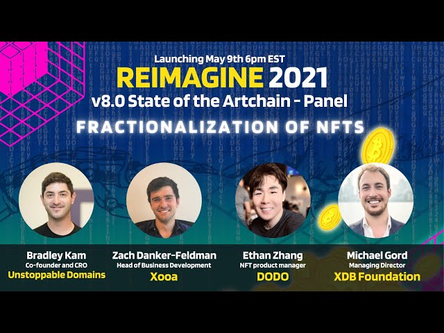 REIMAGINE2021 DODO Panel - Ethan Zhang, Product Manager, DODO Exchange - Pieces of NFTs for everyone