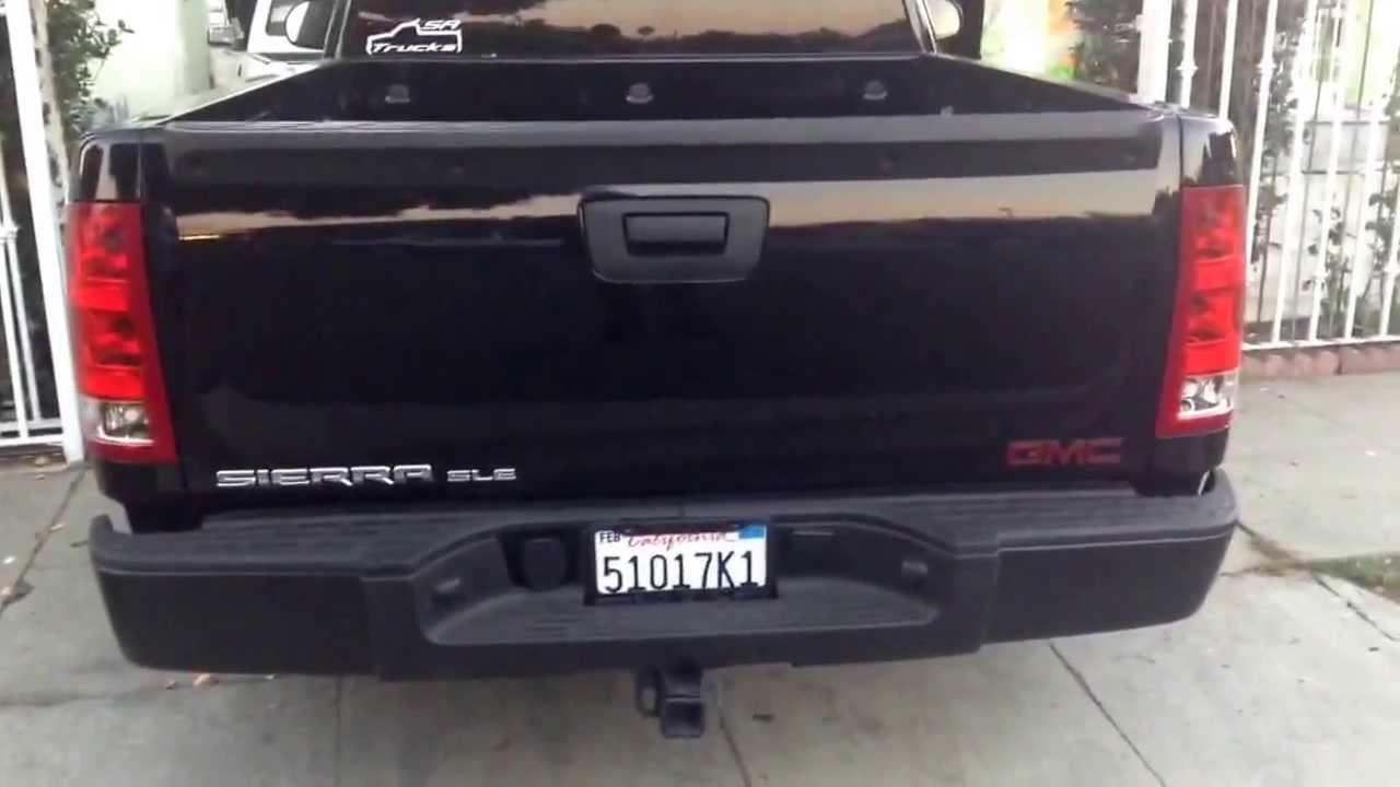 Gmc Single Cab >> 2013 Gmc sierra sle 5.3 single cab Lower shackles and front drop my new sunroof - YouTube