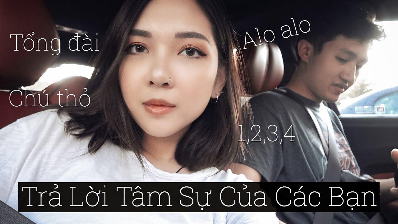 1 Ngày Vừa Vlog Vừa Trả Lời Các Câu Hỏi Tâm Sự Của Khán Giả - A Day Q&A With My Followers | Thỏ Vlog
