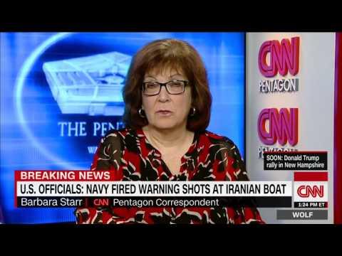 U.S.: Navy fired warning shots at Iranian boat