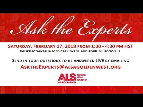 2018 - Ask The Experts - Honolulu – Thriving with ALS