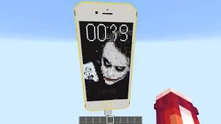 РАБОТАЮЩИЙ IPhone 6S в Майнкрафте БЕЗ МОДОВ MINECRAFT КАК СДЕЛАТЬ ДЛЯ ДЕТЕЙ ДЕТИ KIDS ДЕВУШКА