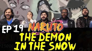 Naruto - Episode 19 The Demon in the Snow - Group Reaction