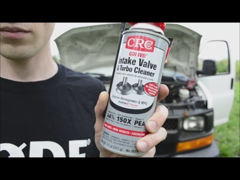 How To Use CRC Intake Valve & Turbo Cleaner || Does it work? Testing It On  A Turbo