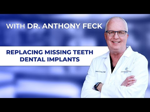 Replace Missing Teeth with Dental Implants with Lexington, KY dentist Anthony Feck, DMD
