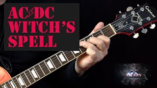 Witch's Spell ( AC DC ) - Guitar Lesson