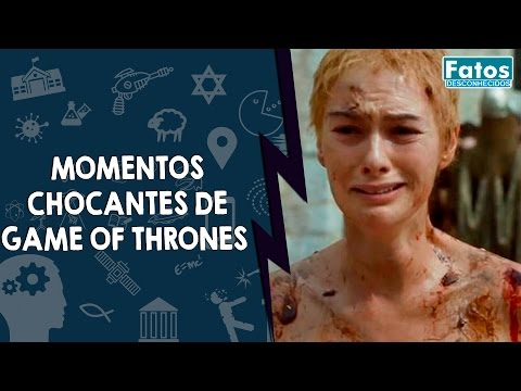9 momentos chocantes de Game Of Thrones