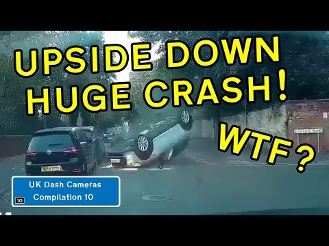 UK Dash Cameras - Compilation 10 - 2019 Bad Drivers, Crashes + Close Calls