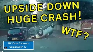 UK Dash Cameras - Compilation 10 - 2019 Bad Drivers, Crashes + Close Calls
