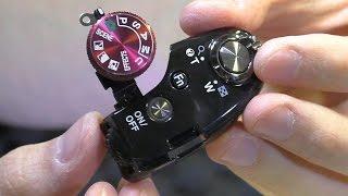 Не переключаются режимы / Самопроизвольное переключение. Фотокамера Nikon P520. РЕМОНТ