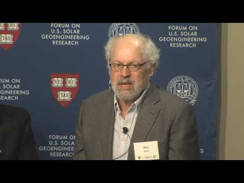 Forum on U.S. Solar Geoengineering Research: Natural Science Panel