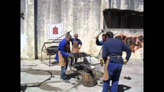Demostración de forja artesanal Forjas Brun