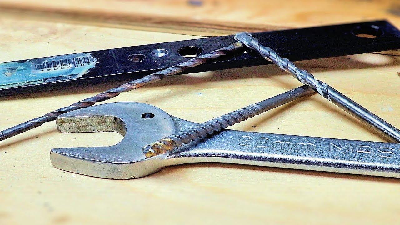 Drilling Hardened Steel With Masonry Bits