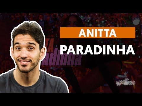 Paradinha - Anitta (aula de violão completa)