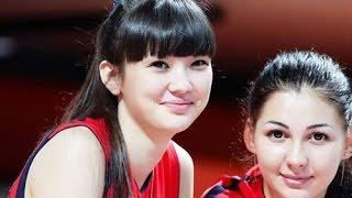 Winifer Fernandez vs Sabina Altynbekova in Volleyball