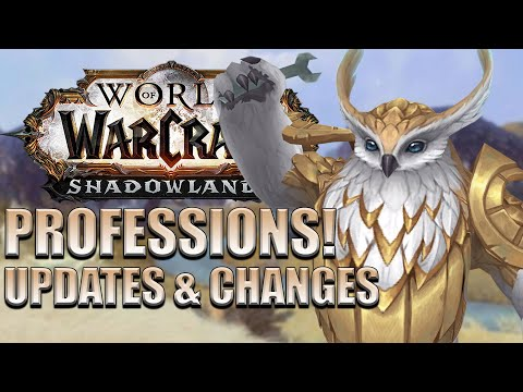 Profession UPDATES & CHANGES Coming in Shadowlands Pre-Patch/Launch
