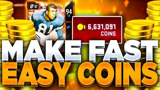 FAST AND EASY COIN MAKING METHOD MADDEN 20!! | HOW TO MAKE COINS IF YOU DONT HAVE MANY MADDEN 20!!