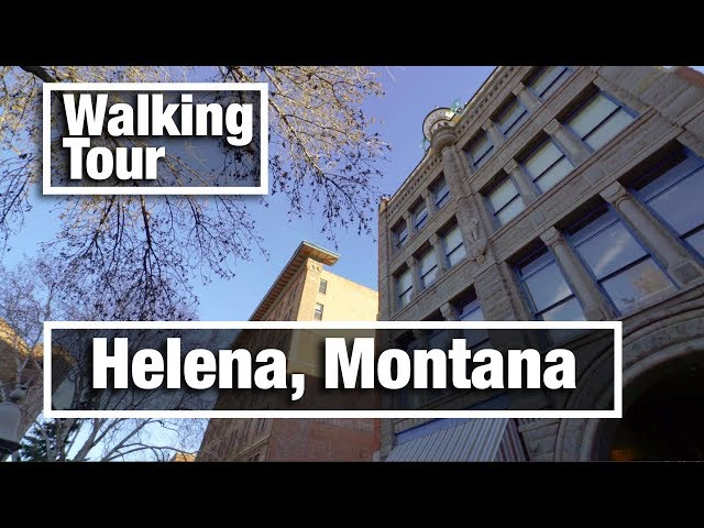 4K City Walks: Helena Montana 4K virtual treadmill walking tour