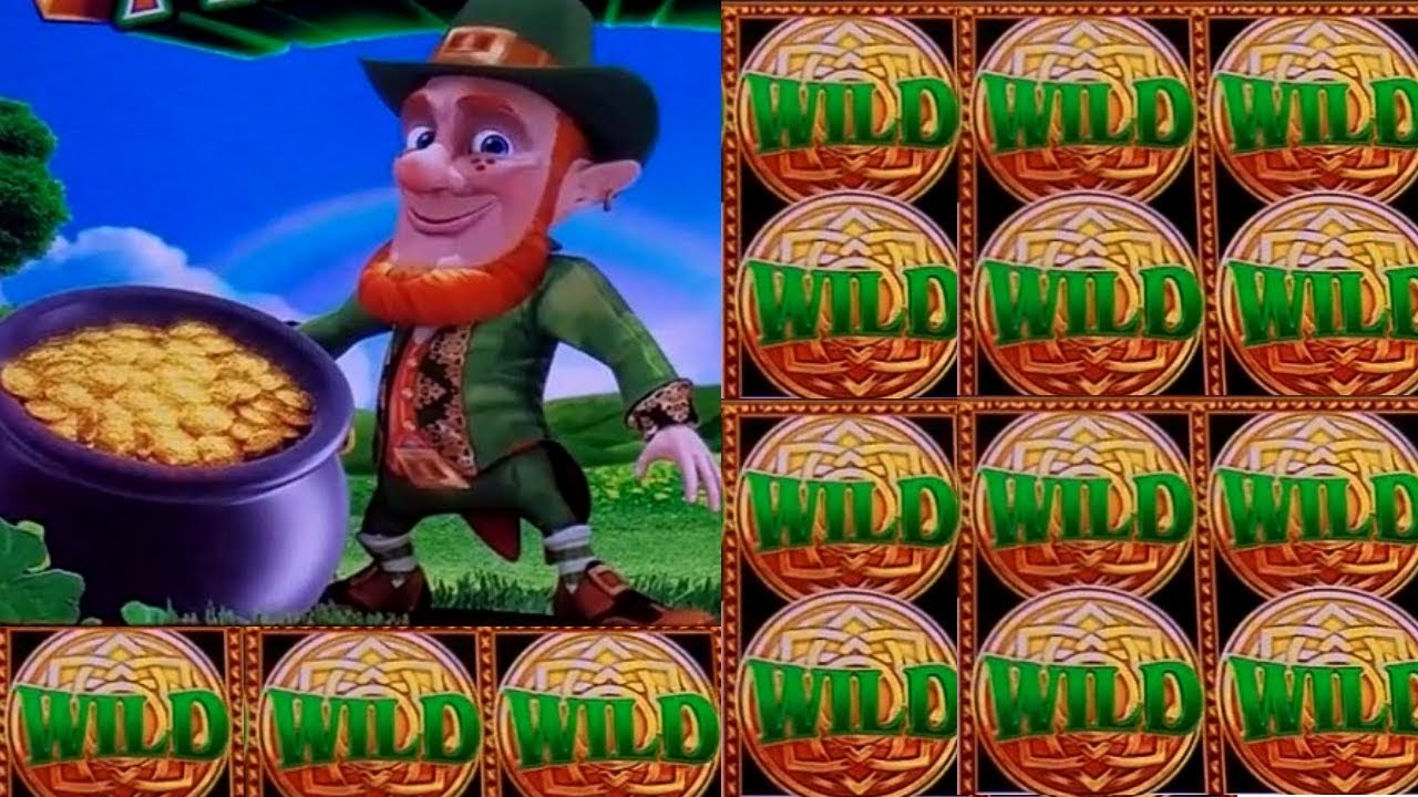 Wonder 4 Tall Fortunes Wild Lepre Coins Slot Machine 20