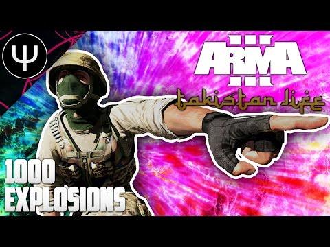 ARMA 3: Takistan Life Mod — 1000 Explosions!