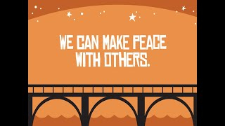 We can make Peace with others. KidzChurch 4.11.21