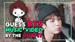 Guess BTS Music Video By The Outfit Drawings