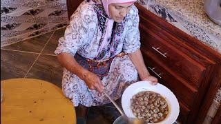 أكلة الببوش ( الحلزون ) بطريقة لالة حادة