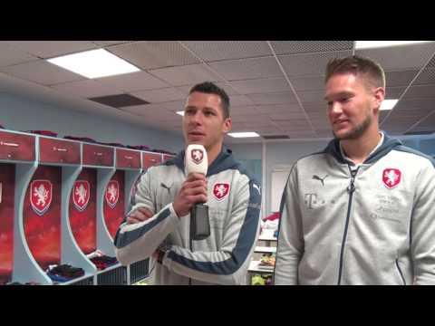 Marek Suchý a Tomáš Vaclík představují českou kabinu v Tours