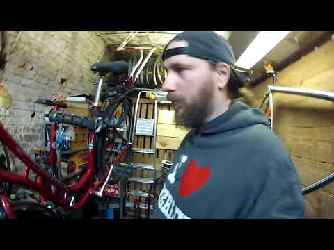 verrostete Kette wiederbeleben, Fahrrad Tretlager defekt Tausch BBF Oslo # 412 Tommys Vlog
