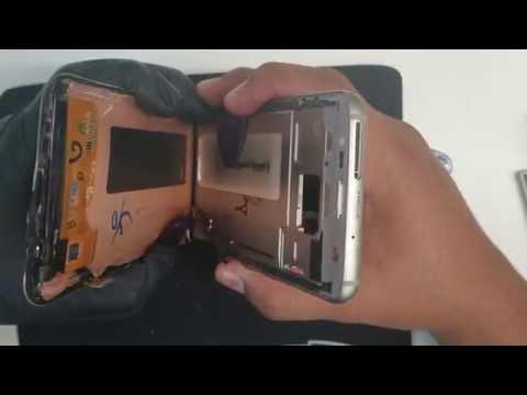 Galaxy S7 Edge Screen Replacement. Very Easy. Cambio De Pantalla