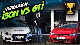 Hyundai i30N Performance vs. VW Golf 7 GTI Performance mit 100-200 🚗