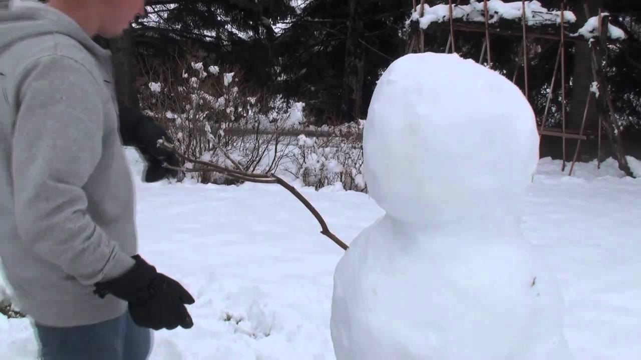How To Build A Snowman YouTube