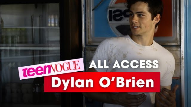 Go Behind The Scenes With Dylan O Brien At His Teen Vogue Photo Shoot All Access