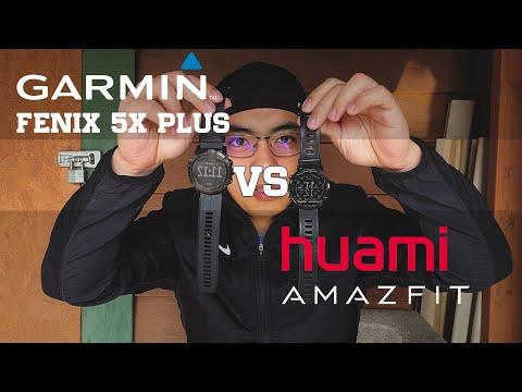 Amazfit Stratos Vs Garmin Fenix 5x Plus