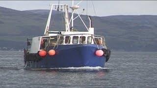 Trawling and Tubing Live Nephrops Prawns