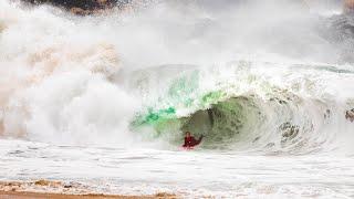 PUMPING SURF IN CALIFORNIA (NEWPORT WEDGE)