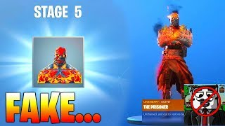 How to UNLOCK STAGE 5 Fortnite The Prisoner Skin (TrueTriz EXPOSED)
