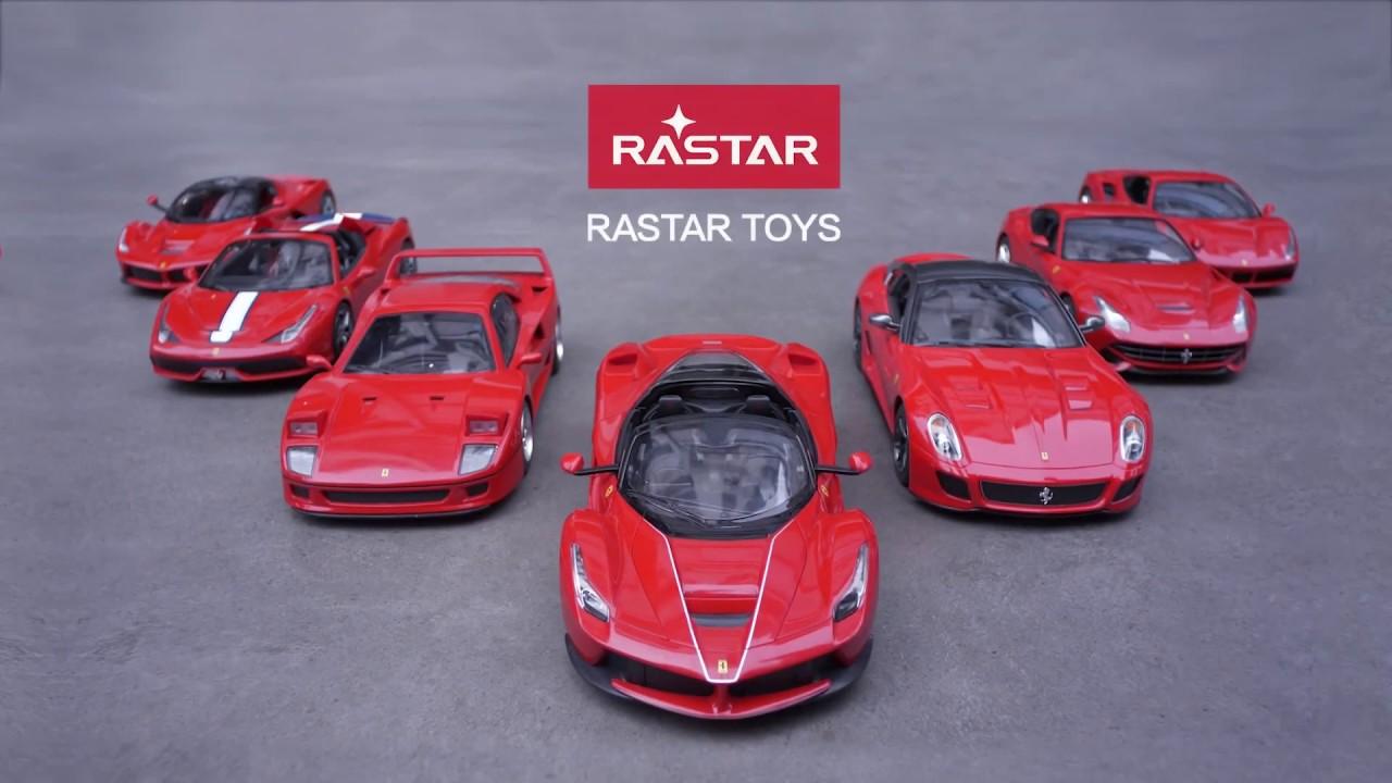 Rastar Ferrari Cubos Luminosos Youtube