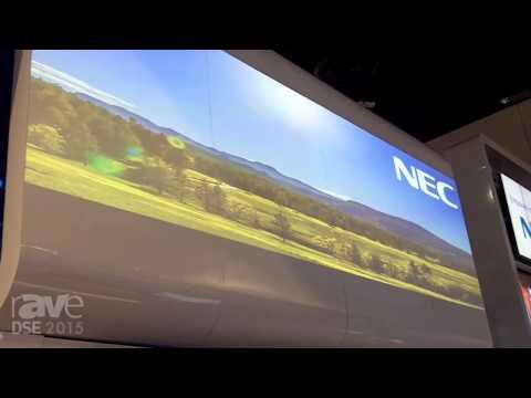 DSE 2015: NEC Display Demos PX602UL Laser-Phosphor Projectors In Double-Stack, Quad Configuration